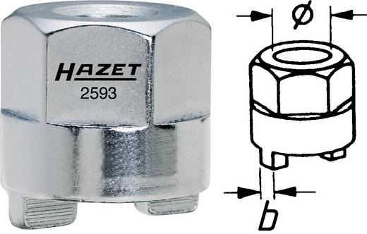 Hazet 2593-4 Schokdemper-tapsleutel