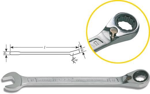 Steek-/ratelsleutel 17 mm Hazet 606-17