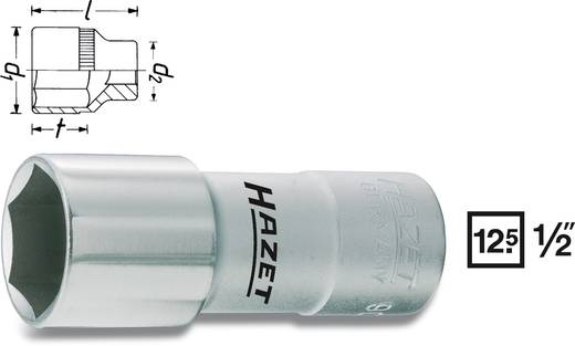 """Hazet 900AMGT Inbusdop Bougiesleutelinzet 16 mm 5/8"""" 1/2"""" (12.5 mm) Afmeting, lengte: 71 mm"""