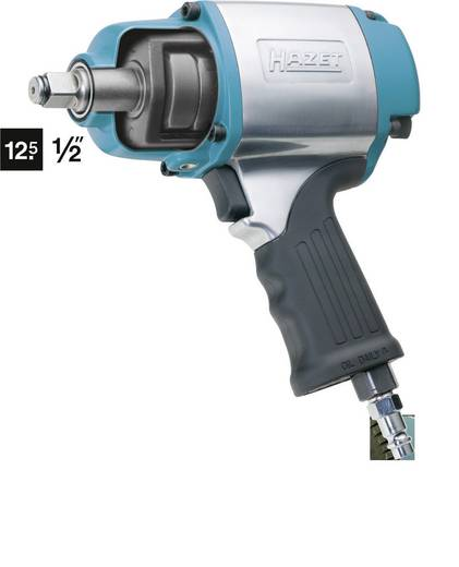 "Hazet 9012-1SPC persluchtslagmoersleutel 1/2"" (12.5 mm) buitenvierkant ma"