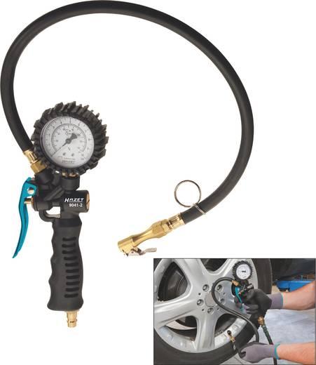 """Hazet Bandenspanningsmeter 1/4"""" (6.3 mm) 10 bar Kalibratie conform: Fabrieksstandaard (zonder certificaat)"""
