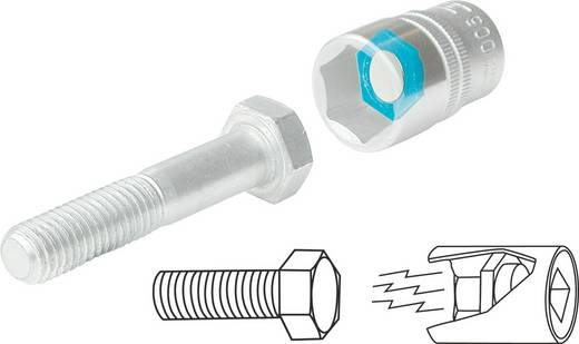 """Magneetinzet voor steeksleutel Uitvoering 1/2"""" (12.5 mm) Hazet 960MGT"""