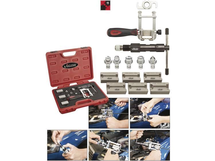 Vigor V1728 Remleiding affakkelen tool set 11tlg.