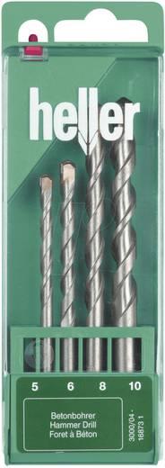 Beton-spiraalboren set 4-delig Heller Powe