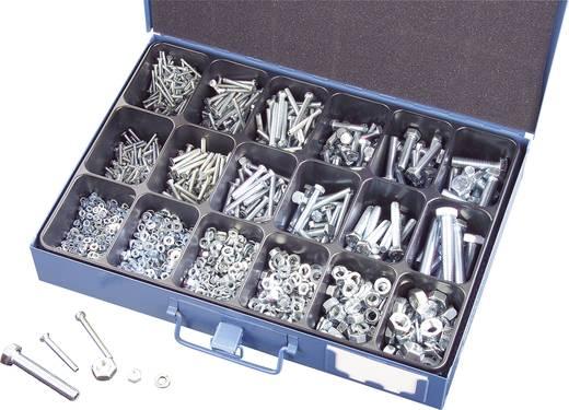 803588 Combi-schroeven assortiment 3000 onderdelen