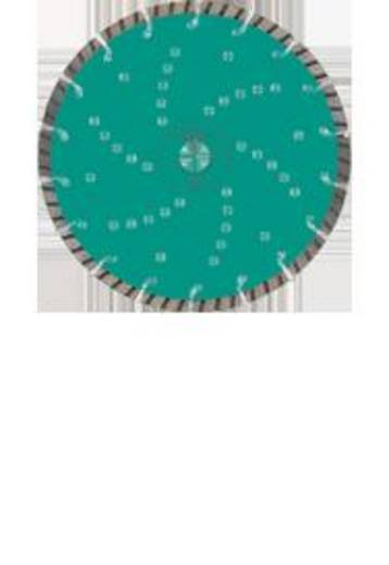Diamanten doorslijpschijf Turbo Cut Universal diameter 150 mm (opname 22,23) Heller 26707 6 Diameter 150 mm Binnendiameter 22.23 mm 1 stuks