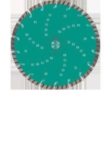 Diamanten doorslijpschijf Turbo Cut Universal diameter 230 mm (opname 22,23) Heller 26709 0 Diameter 230 mm Binnendiameter 22.23 mm 1 stuks