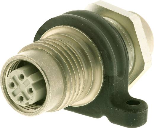 Harting HARAX M12-L Adapter M12 bus/bus Aantal polen: 4 Inhoud: 1 stuks