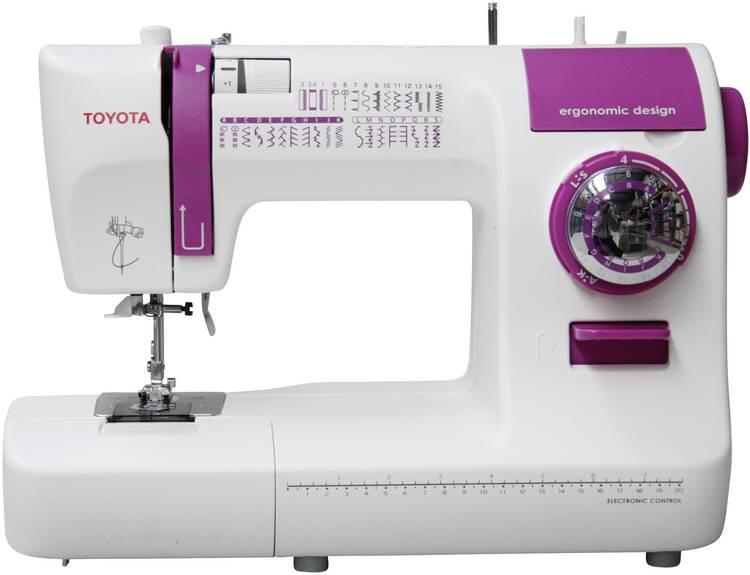 Toyota ECO34A naaimachine met vrije arm met 34 programmas