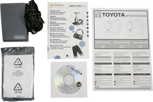 Toyota Super J34 jeans naaimachine met vrije arm met 34 programmas
