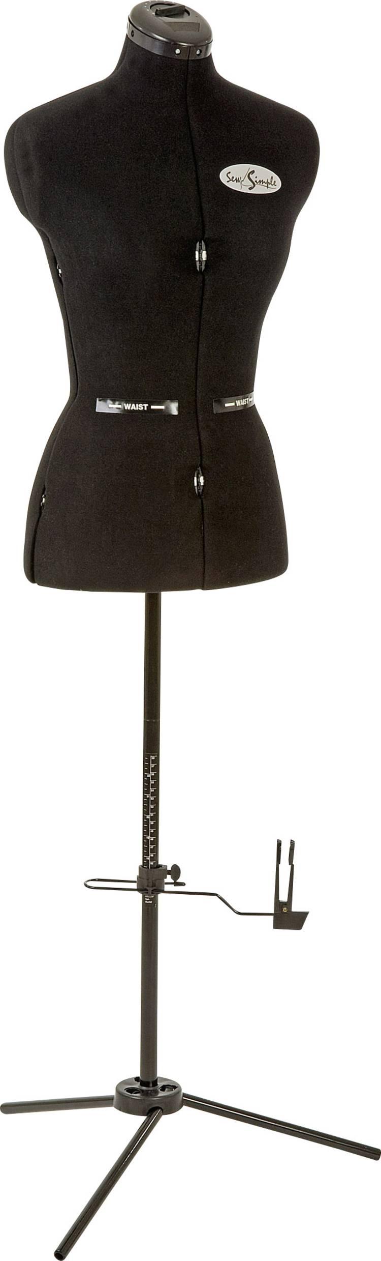 Image of Paspop SEW Simple Maat=M Zwart