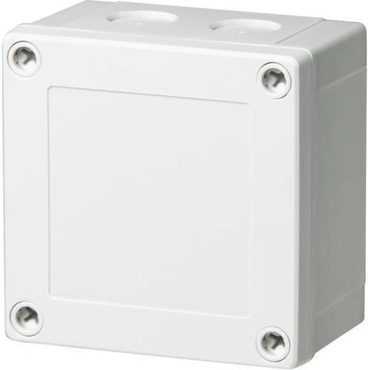 Fibox PCM 95/60 G Wandbehuizing, Installatiebehuizing 100 x 100 x 60 Polycarbonaat Lichtgrijs (RAL 7035) 1 stuks