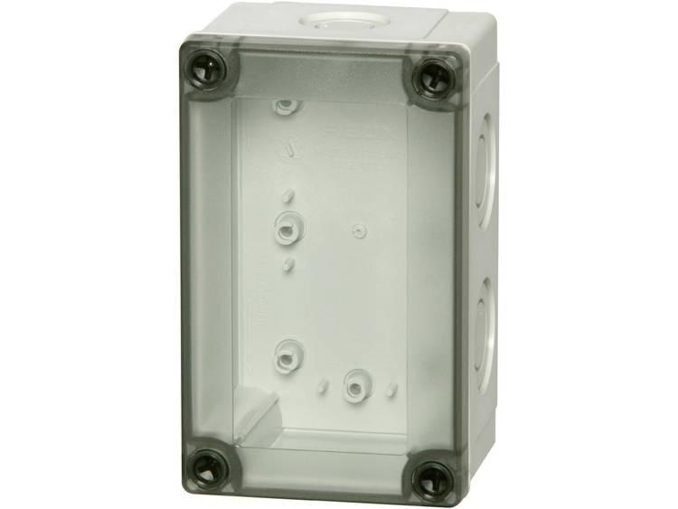 Fibox MNX PCM 100/100 T Wandbehuizing, Installatiebehuizing 130 x 80 x 100 Polycarbonaat Grijs-wit (RAL 7035) 1 stuks