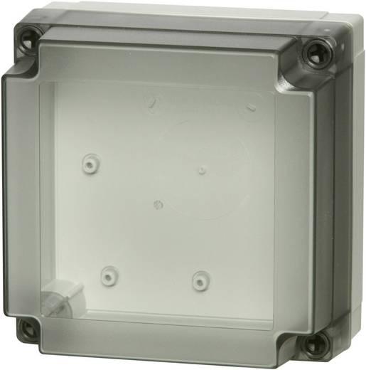 Wandbehuizing, Installatiebehuizing 130 x 130 x 35 Polycarbonaat Lichtgrijs (RAL 7035) Fibox PCM 125/60 T 1 stuks