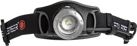 LED Lenser H7R.2 LED Hoofdlamp Zwart werkt op een accu