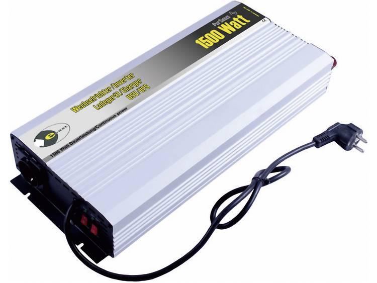 Omvormer e-ast HPLSC1500-12-S-UPS 1500 W 12 V-DC, 230 V-AC 12 V-DC; 230 V-AC UPS-functie Schroefklem