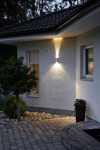 Buiten LED-wandlamp Zilver-grijs 6 W Konstsmide 7911-310