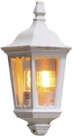 Buitenwandlamp E27 100 W Konstsmide Firenze 7229-250 Wit