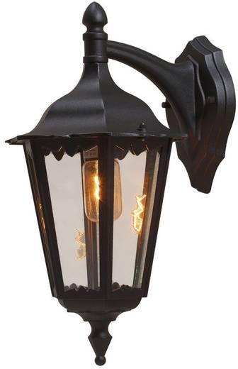 Buitenwandlamp E27 100 W Konstsmide Firenze 7212-750 Zwart