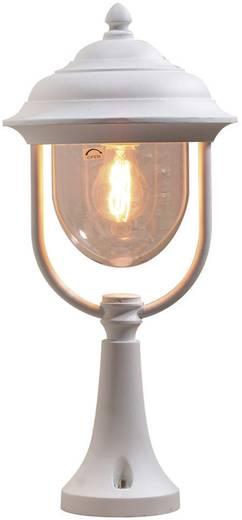 Staande buitenlamp Spaarlamp E27 75 W Konstsmide Parma 7224-250 Wit