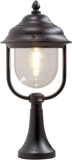Staande buitenlamp Spaarlamp E27 75 W Konstsmide Parma 7224-750 Zwart