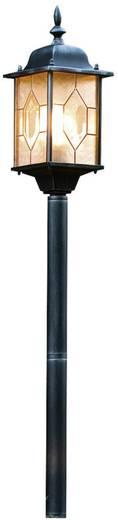 Staande buitenlamp Spaarlamp E27 75 W Konstsmide Milano 7245-759 Zwart/zilver