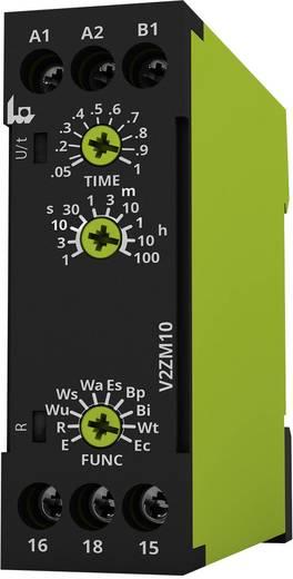 tele V2ZM10 12-240 V AC/DC Multifunctioneel Tijdrelais 1 stuks Tijdsduur: 0.05 s - 100 h 1x wisselaar