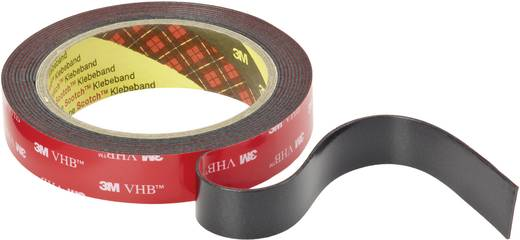 3M VHB 5952F Dubbelzijdige tape Zwart (l x b) 3 m x 19 mm Acryl Inhoud: 1 rollen