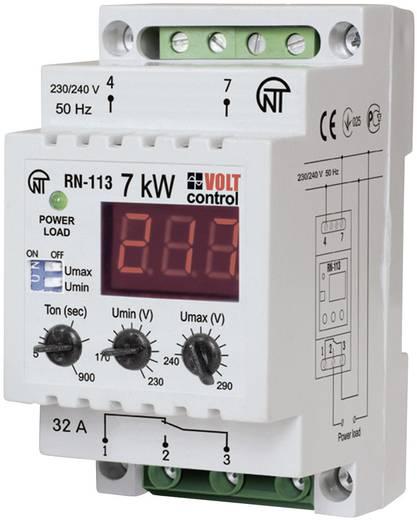 Novatek RN-113 Spanningscontrole relais Aantal relaisuitgangen: 2