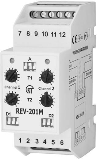 Novatek REV-201M Tijdrelais Aantal relaisuitgangen: 2