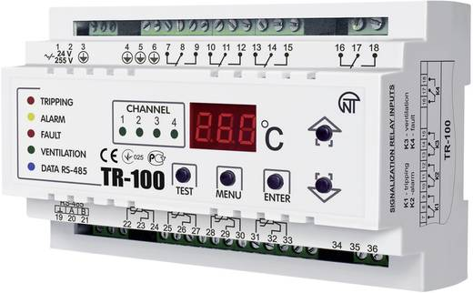 Novatek TR-100 Temperatuurrelais Aantal relaisuitgangen: 4