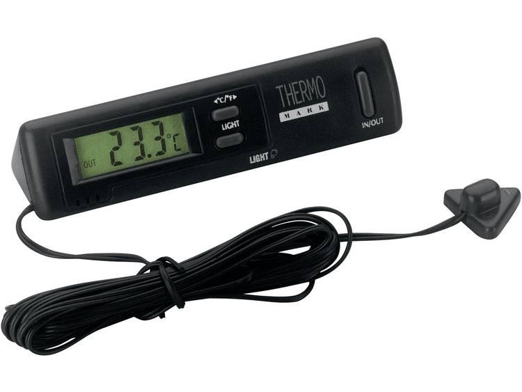 4504 Herbert Richter Thermometer Binnentemperatuur, Buitentemperatuur, Kabelsensor 50 tot 70 °C