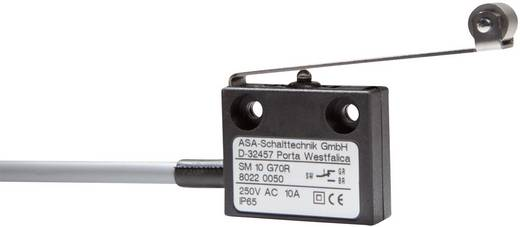 ASA Schalttechnik SM 10 G70R Microschakelaar 250 V/AC 10 A 1x aan/(aan) IP65 schakelend 1 stuks