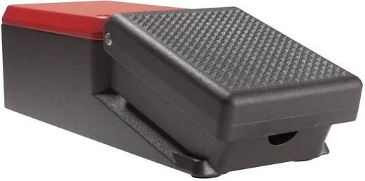 ASA Schalttechnik FS1 SU1R Voetschakelaar 500 V/AC 10 A 1 pedaal 1x NO, 1x NC IP65 1 stuks