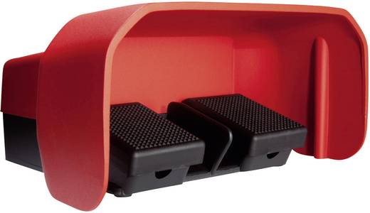 ASA Schalttechnik FS2 SU1/SU1 U Voetschakelaar 500 V/AC 10 A 2 pedalen Met beschermkap 1x NO, 1x NC IP65 1 stuks