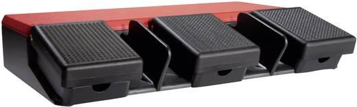 ASA Schalttechnik FS3 SU1/SU1/SU1 Voetschakelaar 500 V/AC 10 A 3 pedalen 1x NO, 1x NC IP65 1 stuks