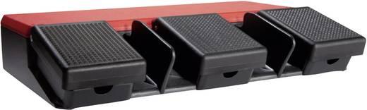 ASA Schalttechnik FS3 SU1R/SU1R/SU1R Voetschakelaar 500 V/AC 10 A 3 pedalen 1x NO, 1x NC IP65 1 stuks