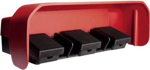 ASA Schalttechnik FS3 U1/U1/U1 U Voetschakelaar 500 V/AC 10 A 3 pedalen Met beschermkap 1x NO, 1x NC IP65 1 stuks