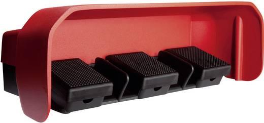 ASA Schalttechnik FS3 SU1/SU1/SU1 U Voetschakelaar 500 V/AC 10 A 3 pedalen Met beschermkap 1x NO, 1x NC IP65 1 stuks
