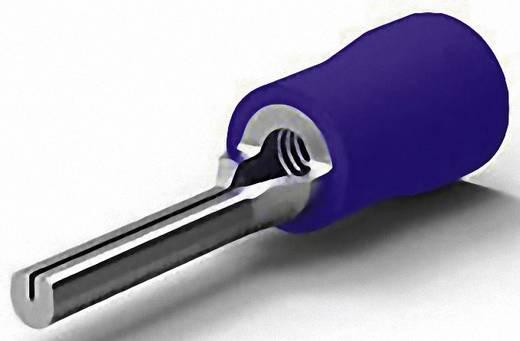 TE Connectivity 165075 Stiftkabelschoen 1 mm² 2.6 mm² Deels geïsoleerd Blauw 1 stuks