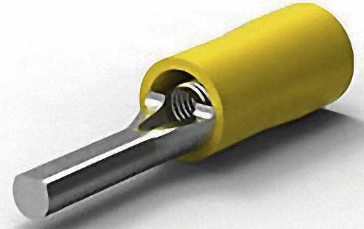 TE Connectivity 165085 Stiftkabelschoen 2.7 mm² 6.6 mm² Deels geïsoleerd Geel 1 stuks