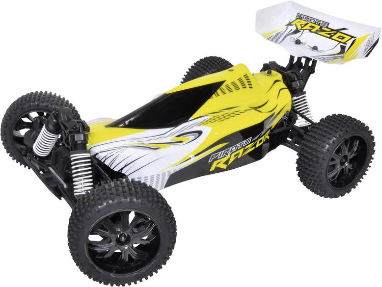T2M Pirate Razor Brushed 1:10 RC auto Elektro Buggy 4WD RTR 2.4 GHz