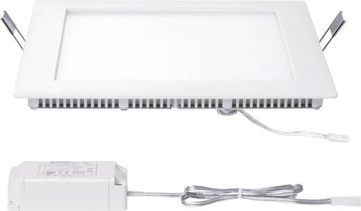 Premium EBL Set Panel hoekig LED 1x8W tw 8VA 230V/ 350mA 210 mm wit mat/aluminium