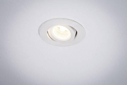 Premium EBL Creamy draaibaar LED 1x10W 700mA 88mm wit mat/aluminium