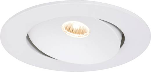 Premium EBL Cloud draaibaar LED 1x10W 700mA 96mm wit mat/aluminium