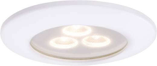 Premium EBL IP65 Pearly LED 1x 7,5 W 700mA 100mm wit mat/aluminium