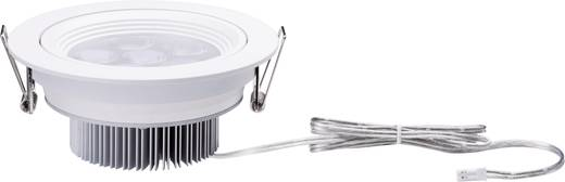 Premium meubelinbouwlamp Albino draaibaar LED 1x 7,2 W 350 mA 125 mm wit mat/aluminium