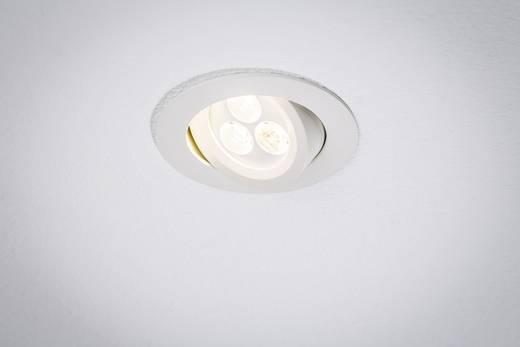 Premium EBL Snowy draaibaar LED 1x 7,5W 700mA 95mm wit mat/aluminium