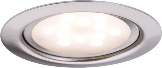 Meubelinbouwset LED 3x 4,5 W 12 VA 230 V/350 mA 65 mm ijzer geborsteld/metaal