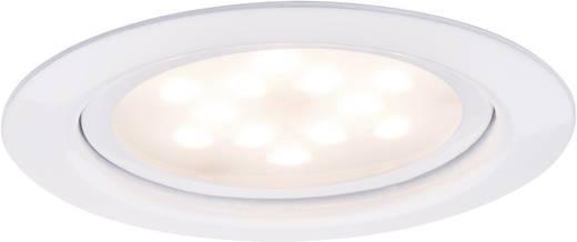 Meubelinbouwset LED 3x 4,5 W 12 VA 230 V/350 mA 65 mm wit/metaal